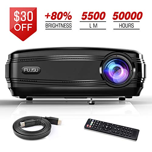 Projectors 5500 Lumen Video Projector,...