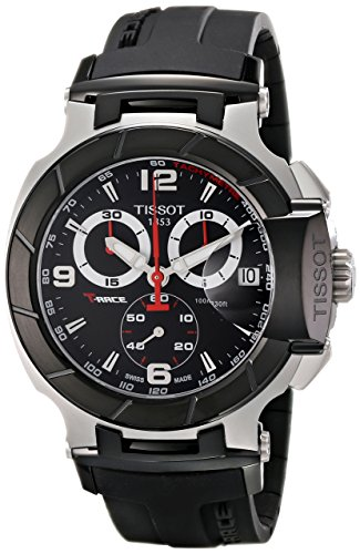 Tissot Men's T0484172705700 T-Race Black...