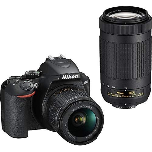 Nikon D3500 DX-Format DSLR Two Lens Kit...