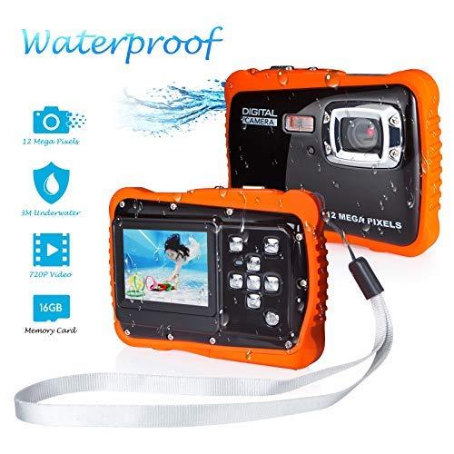 Underwater Camera for Kids, FLAGPOWER...