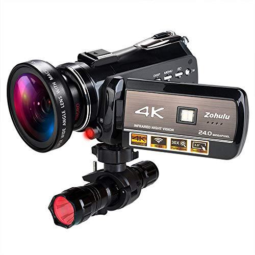 4K Wifi Full Spectrum Camcorders, Ultra...