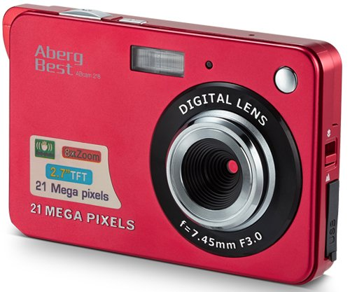 AbergBest 21 Mega Pixels 2.7' LCD...
