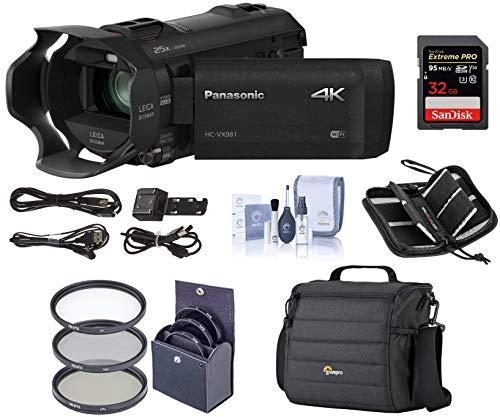 Panasonic 4K Ultra HD Camcorder...
