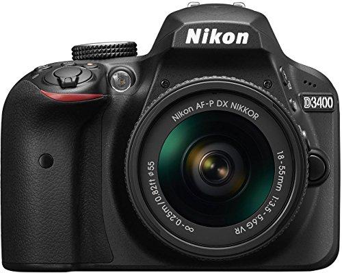 Nikon D3400 w/ AF-P DX NIKKOR 18-55mm...