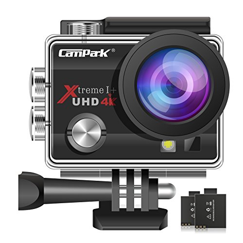 Campark ACT74 Action Camera 4K Ultra HD...