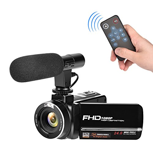 Full HD Camcorder 1080p Digital Camera...