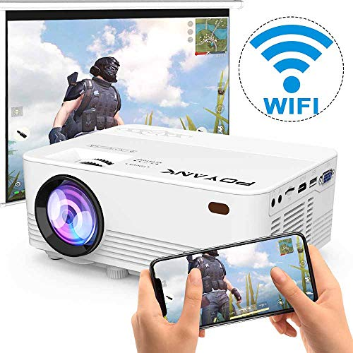 [2020 Upgrade WiFi Projector] POYANK...