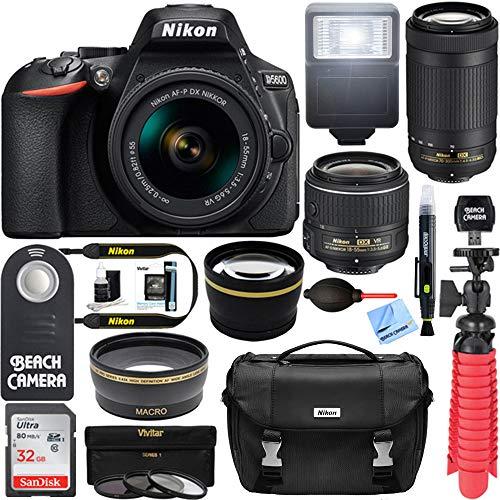 Nikon D5600 24.2MP DX-Format DSLR Camera...