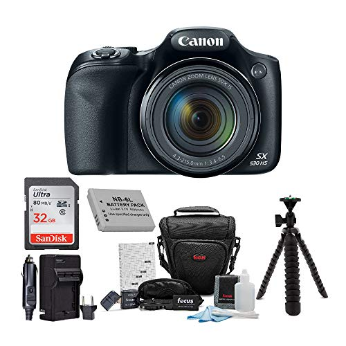 Canon Powershot SX530 HS Camera with...