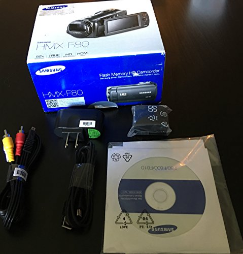Samsung HMX-F80 Flash Memory Camcorder...